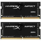 HyperX Impact HX426S15IB2K2/32 Arbeitsspeicher 32GB Kit*(2x16GB) 2666MHz DDR4 CL15 SODIMM
