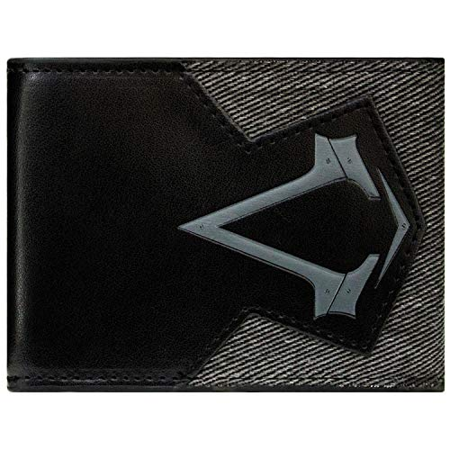 Ubisoft Assassins Creed Syndikat Grau Portemonnaie Geldbörse
