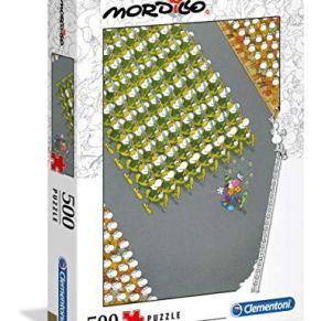 Clementoni- Puzzle 500 Piezas Mordillo : The Match (35078.0)