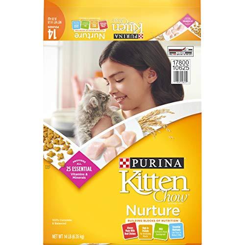 Purina Kitten Chow Dry Kitten Food, Nurture - 14 lb. Bag