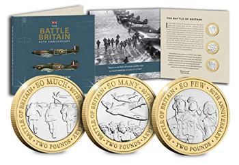 The Westminster Collection 2020 Battle of Britain 80th Anniversary £2 Set