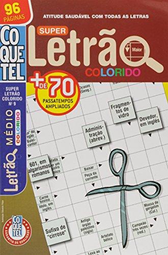 Coquetel. Super Letrão Colorido - Nível Médio. Livro 9