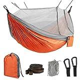 Idefair Hamac avec moustiquaire, Double hamac de Camping, moustiquaire, moustiquaire, étanche,...