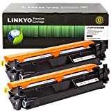 LINKYO Compatible Toner Cartridge Replacement for HP 30X CF230X (Black, High Yield, 2-Pack)