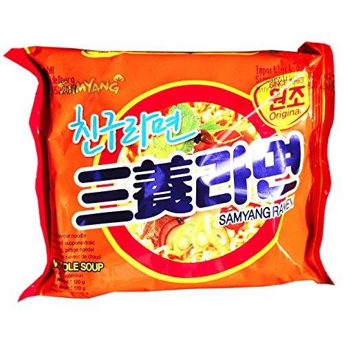 Macarrão instantâneo lamen samyang ramen - coreia