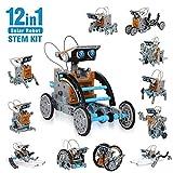 CIRO Kit de Construction de Robots solaires 12 en 1 - 190 pièces à...