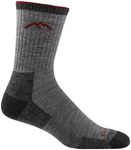 DARN TOUGH (Style 1466) Men's Hiker Hike/Trek Sock - Charcoal, Large