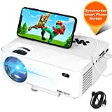 Mini Projector, TOPVISION Projector with Synchronize Smart Phone...