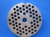 Smokehouse Chef size #22 x 1/4 (6 mm) holes Meat Grinder Plate Disc fits Hobart 8422 4322 4622 4822 100% Stainless Steel