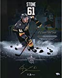 Mark Stone Vegas Golden Knights Autographed 16' x 20' First Hat Trick Highlight Photograph - Fanatics Authentic Certified
