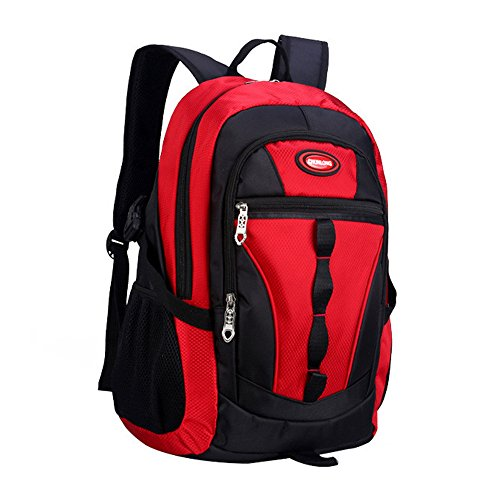 Adanina Teens Elementary School Bag Casual Daypack Book Bags Waterproof Travel Knapsack Bags for Primary Junior High School