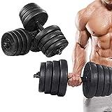 Equipo De Fitness para El Hogar De Protección del Medio Ambiente para Hombres con Mancuernas De 30 Kg Es Adecuado para Hombres para Fortalecer El Entrenamiento,30kg