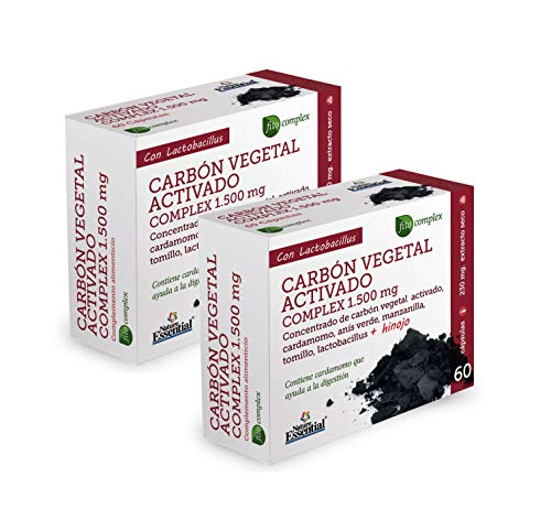 NATURE ESSENTIAL   Carbón vegetal activado (complex) 1500 m