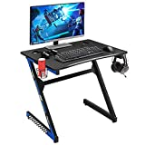 Mr IRONSTONE 31.5' Gaming Desk PC Computer Desk Home Office Student Table for Small Space Z-Shaped...