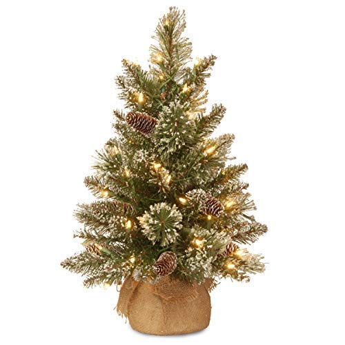 National Tree Company Pre-lit Artificial Mini Christmas Tree |...