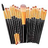 SHENAISHIREN Conforman Pincel, 20pcs de Cepillo del Maquillaje de Ojos Maquillaje Herramientas (Color : Color2)