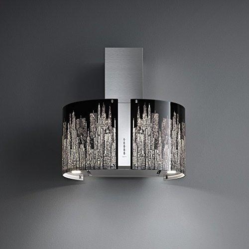 Falmec - Kit Vetri Manhattan per Cappa Mirabilia Round LED Parete 67 cm