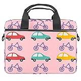 Bolsa cruzada para portátil de 14,5 pulgadas, para coche y bicicleta, bolso de hombro para tablet y negocios, para mujeres y hombres