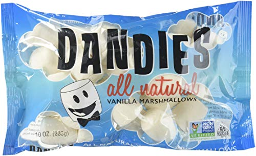 Dandies, Vegan Marshmallows, Vanilla, 10 oz
