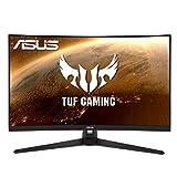ASUS TUF Gaming VG32VQ1BR - Monitor Gaming Curvo 31,5 Pulgadas (WQHD 2560x1440, 165 Hz, Extreme Low Motion Blur, Adaptive-Sync, Freesync Premium, 1 ms (MPRT), HDR10)