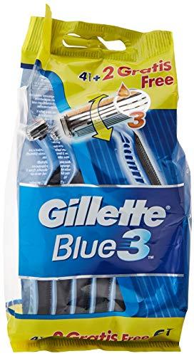 Gillette Rasoio Uomo Usa e Getta, 4+2 Pezzi