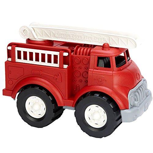 Green Toys Fire Truck - BPA Free, Phthalates Free...
