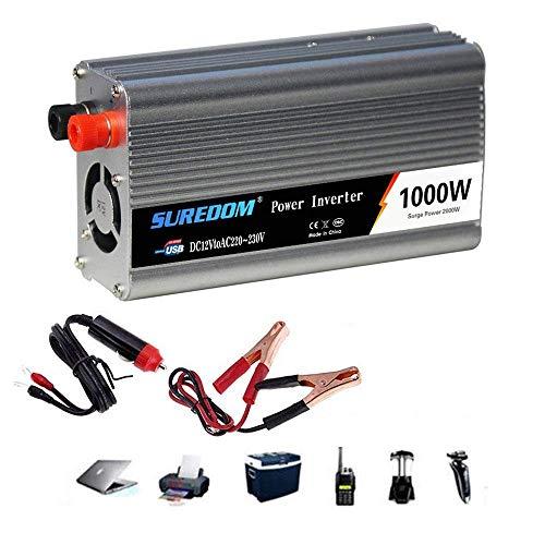 1000W純粋正弦波力インバーター、キャンプのためのプラグと110V / 230Vトラック電圧コンバータへの2000W(...