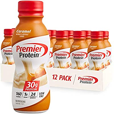 Like the taste of a caramel sundae with dripping caramel over vanilla ice cream in this protein shake; Winner of American Masters of Taste Gold Medal for SUPERIOR TASTING ready-to-drink protein beverages 30g of protein to help curb your hunger, as a ...