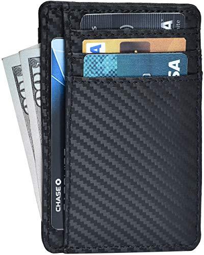 RFID Front Pocket Slim Wallets- Genuine...