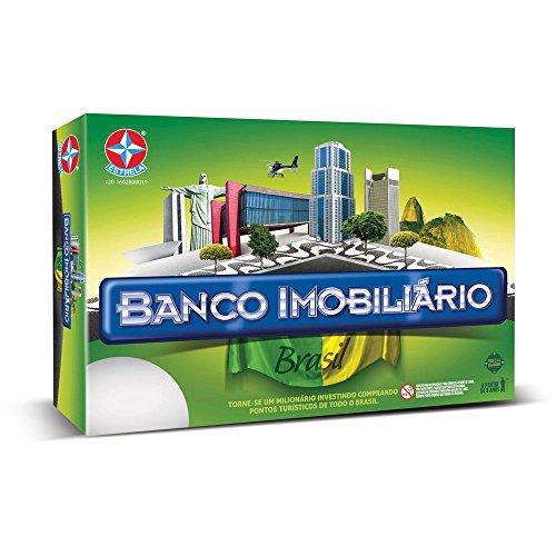 Jogo Banco Imobiliário Brasil Brinquedos Estrela