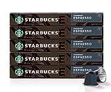 Starbucks by Nespresso, Espresso Dark Roast (50-count single serve capsules, compatible with Nespresso Original Line System)