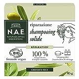 N.A.E. - Shampooing Solide Certifié Bio - Réparation Cheveux Cheveux Secs - 85 g