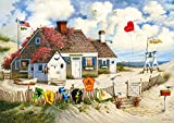 Buffalo Games - Charles Wysocki - Root Beer Break at the Butterfields - 300 Large Piece Jigsaw Puzzle