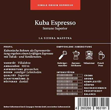 Espresso Kuba
