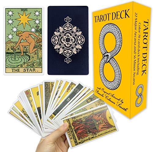 MIRIYAN Tarot Cards Deck with Original Pamela Colman Smith...