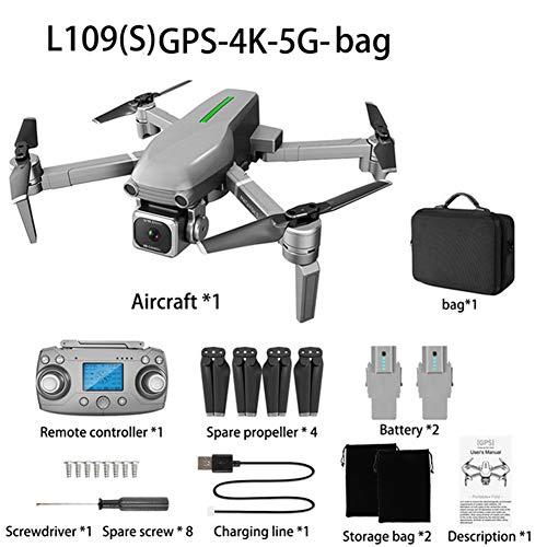 AKDSteel L109 / L109-S Drone 4 K Fotocamera x50 Zoom 5G WiFi 1 km Distanza 25 Minuti quadricottero RC Elicottero Professionale Selfie Drone per Giocattoli L109-s Carrying Case-Dual Battery