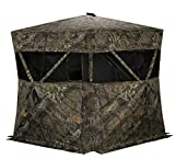 Rhino Blinds R200-MOC 3 Person Hunting Ground Blind, Mossy Oak Breakup Country, 58X58X66