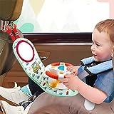 Jouet pour siège d'auto pour nouveau-né Centre d'activités ludiques avec...