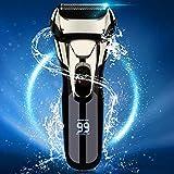 Vifycim Electric Shavers for Men, Mens Electric Razor, Wet Dry Man Foil Shaver, Waterproof Portable Face Cordless Shaver Travel USB Rechargeable Pop-up Trimmer Led for Facial Shaving Dad Husband