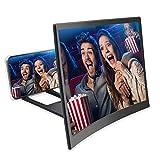 Fodow Loupe d'écran 3D HD incurvée 12'' pour films, vidéos et jeux...