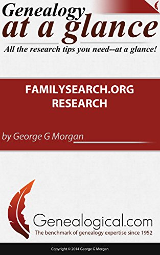 Genealogy at a Glance: Familysearch.org Research