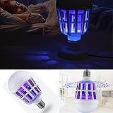Sensail 15W 1000LM Ampoule LED Anti Moustique Lanterne Anti-Insectes