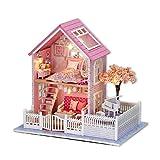 GFDFD Casa de muñecas Manual Juguete de Madera en Miniatura Muebles de casa de muñecas Casa de Juguete Juguetes de muñecas Regalo