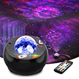 Galaxy Star Projector,Night Light Projector with Music Speaker & Remote Control for Bedroom/Party/Home Decor, Starry Projector with Voice Control and Timer for Kids & Adults