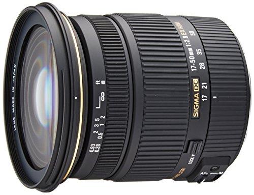 Sigma Obiettivo 17-50 mm-F/2.8 EX DC OS HSM -AF, Stabilizzatore ottico, Attacco CANON