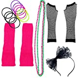 80s Costume for Women. The Perfect 80s Women Costume Set to Make You The Hit of The Party