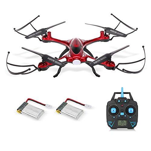 GoolRC T6 2.4G 4CH 6-Assi Giro impermeabile senza testa senza pedale Un Quadcopter di ritorno a chiave con una batteria supplementare