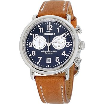 Shinola Detroit The Runwell 41mm - 20044131 Tan Beaumont One Size