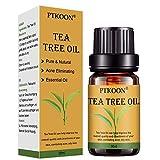 Aceite Esencial de Árbol,Tea Tree Essential Oil,Aceite esencial de árbol de té, para cara y Cuerpo masaje, El tratamiento para el acné, manchas y problemas de la piel