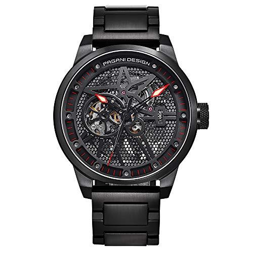 Pagani Design Männer Classic Mechanical Uhr Wasserproof Edelstahlgurt Automatik Uhr